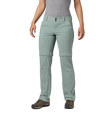 Women's Saturday Trail™ II Stretch Convertible Pants Saturday Trail™ II Convertible Pant | 023 | 10, Light Lichen, front