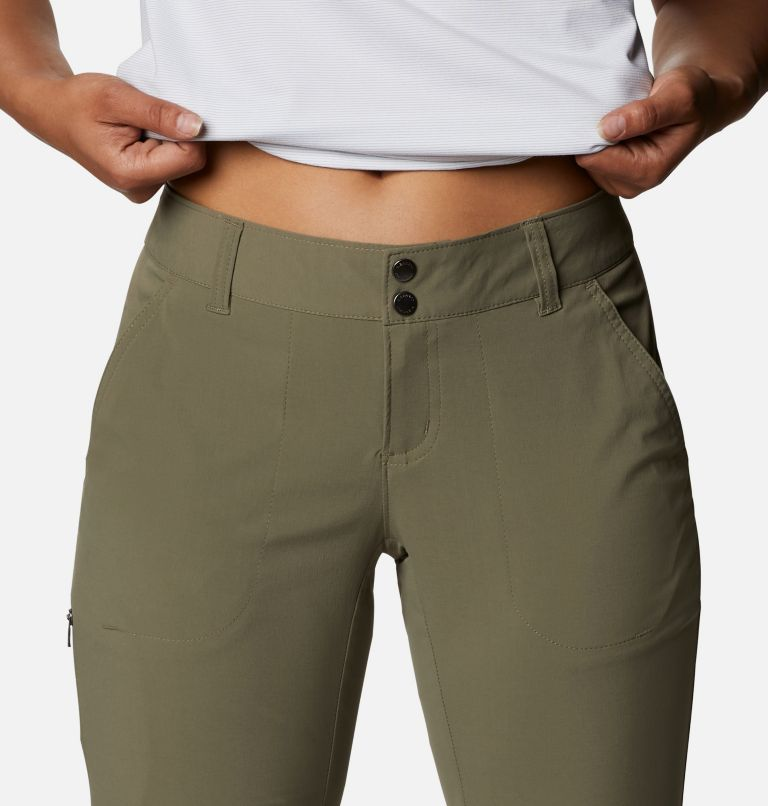 Saturday Trail™ II Convertible Pant | 397 | 12 Women's Saturday Trail™ II Stretch Convertible Pants, Stone Green, a2