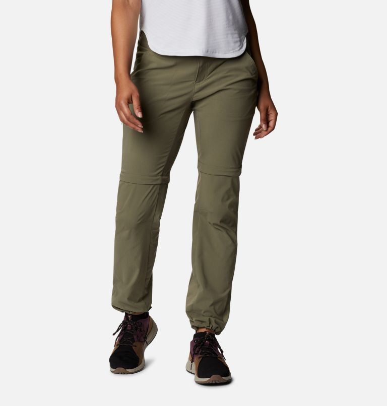 Saturday Trail™ II Convertible Pant | 397 | 12 Women's Saturday Trail™ II Stretch Convertible Pants, Stone Green, a5
