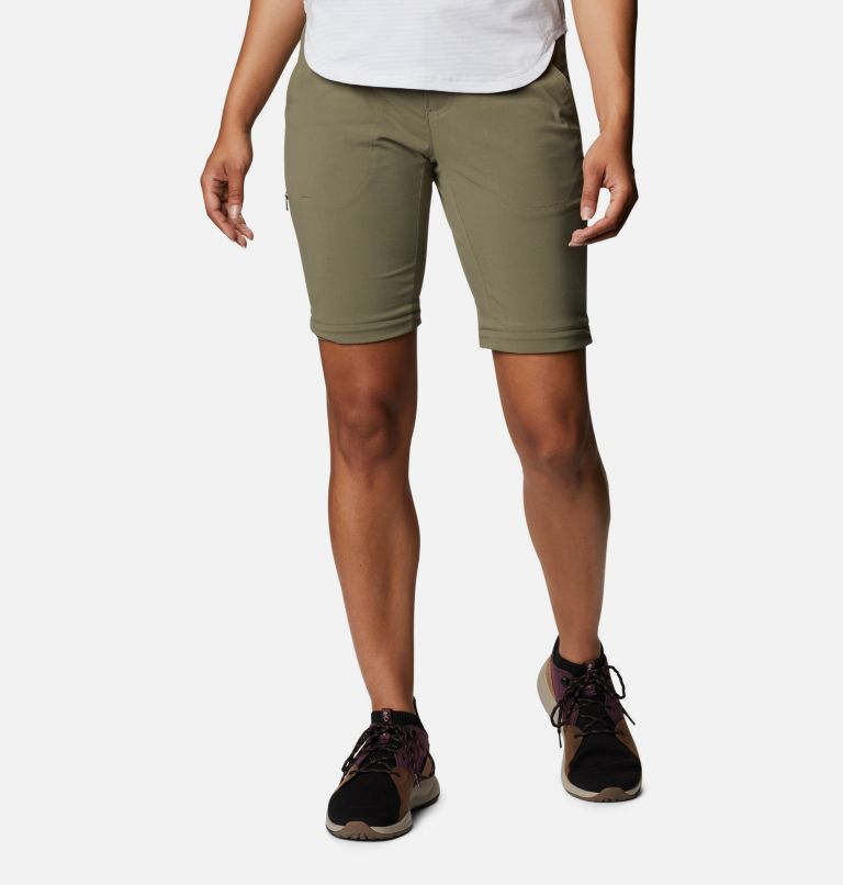 Saturday Trail™ II Convertible Pant | 397 | 12 Women's Saturday Trail™ II Stretch Convertible Pants, Stone Green, a7