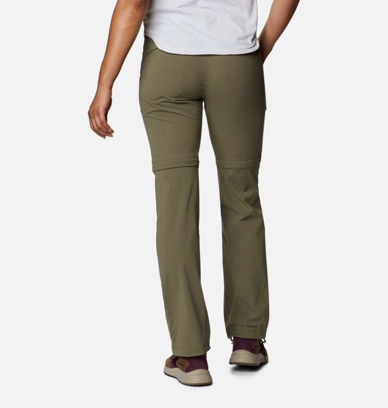 Saturday Trail™ II Convertible Pant | 397 | 12 Women's Saturday Trail™ II Stretch Convertible Pants, Stone Green, back