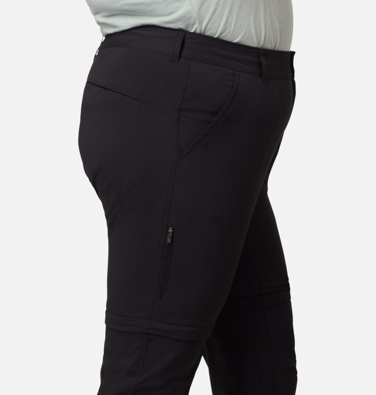 Saturday Trail™ II Convertible Pant | 010 | 20W Women's Saturday Trail™ II Convertible Pants - Plus Size, Black, a1