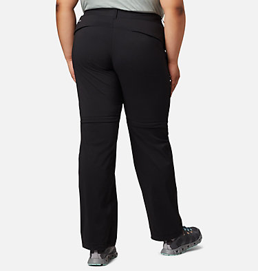 Pantalon convertible Saturday Trail™ II pour femme – Grandes tailles Saturday Trail™ II Convertible Pant | 397 | 16W, Black, back