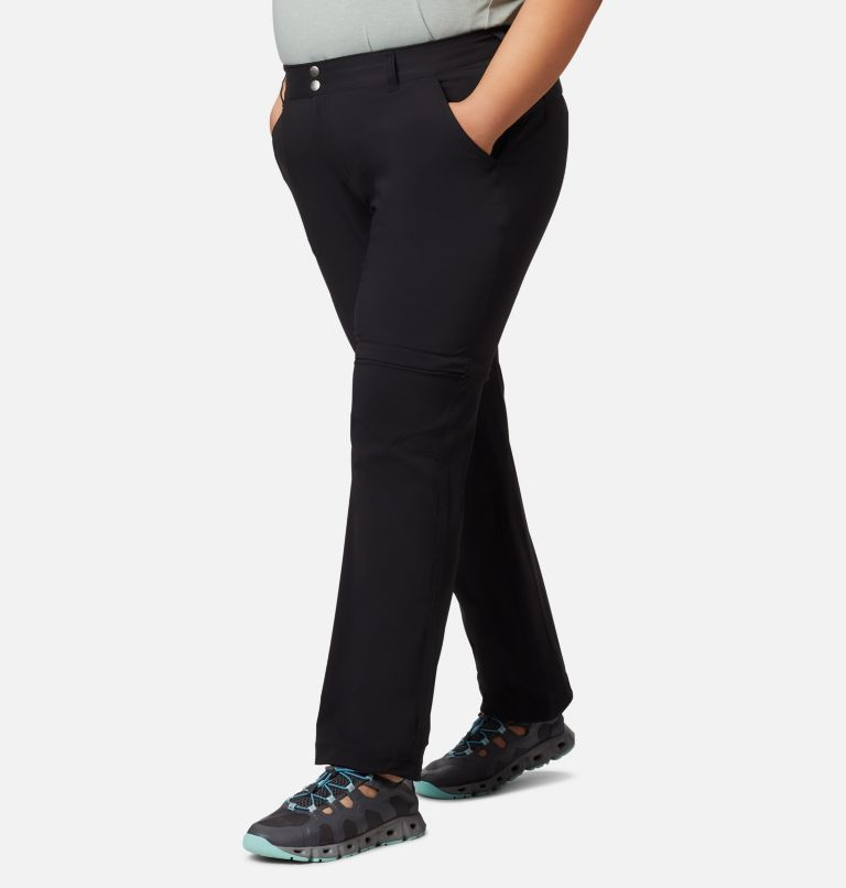 Saturday Trail™ II Convertible Pant | 010 | 20W Women's Saturday Trail™ II Convertible Pants - Plus Size, Black, front