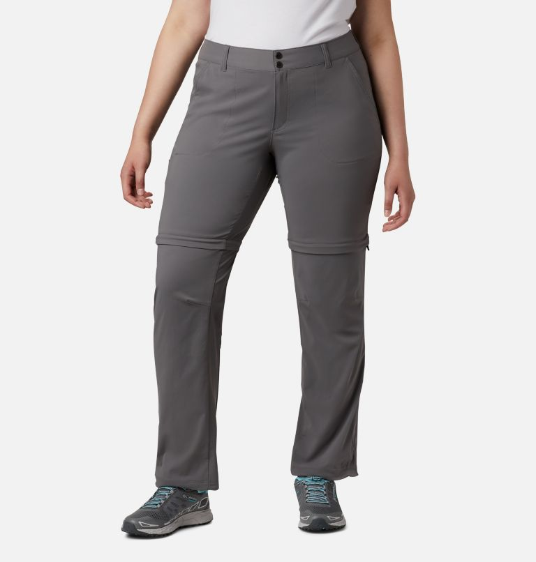Women's Saturday Trail™ II Convertible Pants - Plus Size Women's Saturday Trail™ II Convertible Pants - Plus Size, front