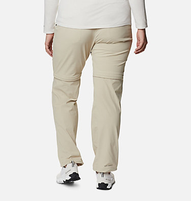 Pantalon convertible Saturday Trail™ II pour femme – Grandes tailles Saturday Trail™ II Convertible Pant | 397 | 16W, Fossil, back