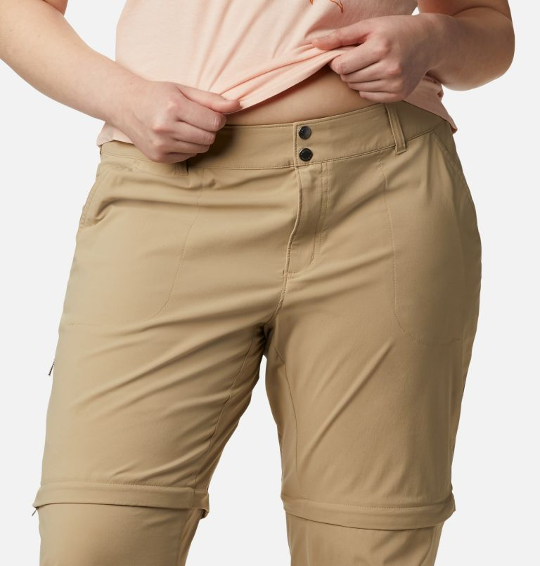 Saturday Trail™ II Convertible Pant   265   24W Women's Saturday Trail™ II Convertible Pants - Plus Size, British Tan, a2