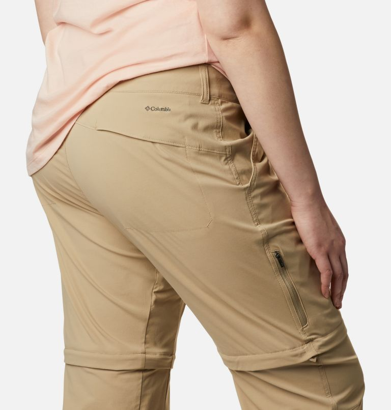 Saturday Trail™ II Convertible Pant | 265 | 20W Women's Saturday Trail™ II Convertible Pants - Plus Size, British Tan, a3