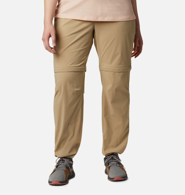 Saturday Trail™ II Convertible Pant | 265 | 20W Women's Saturday Trail™ II Convertible Pants - Plus Size, British Tan, a4
