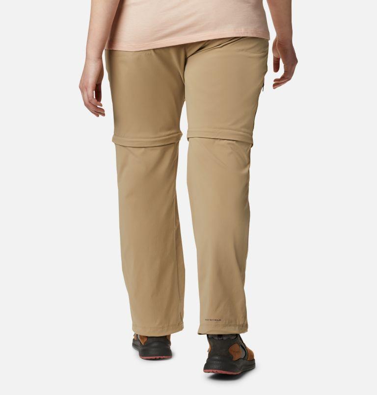 Saturday Trail™ II Convertible Pant   265   24W Women's Saturday Trail™ II Convertible Pants - Plus Size, British Tan, back