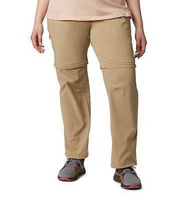 Pantalon convertible Saturday Trail™ II pour femme – Grandes tailles Saturday Trail™ II Convertible Pant | 397 | 16W, British Tan, front