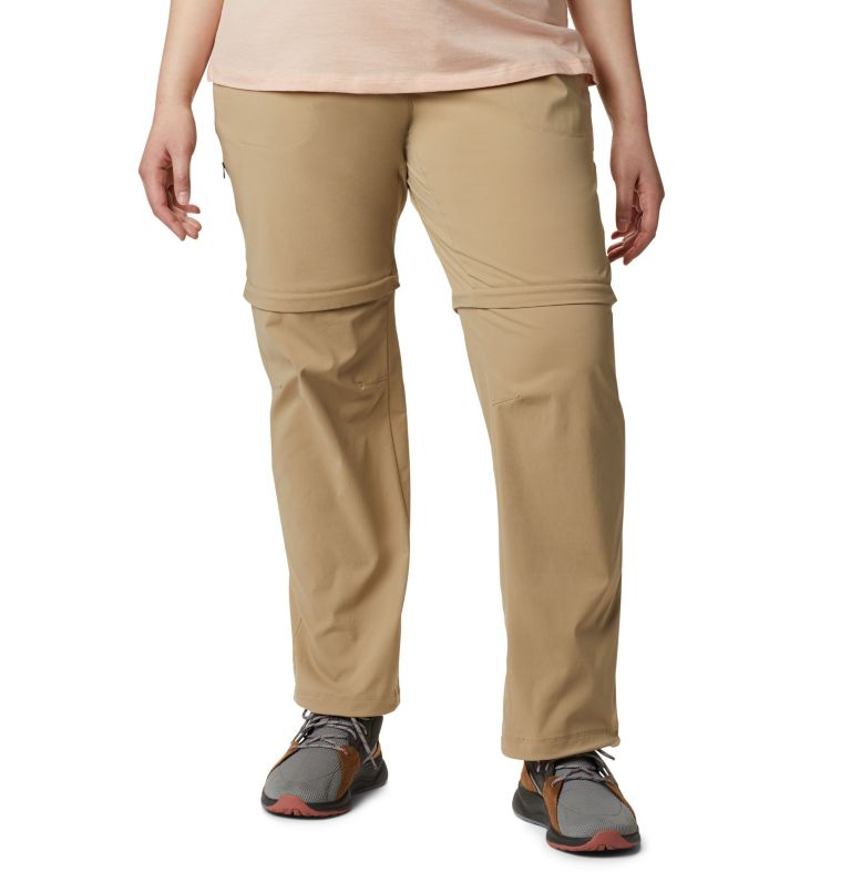Saturday Trail™ II Convertible Pant | 265 | 20W Women's Saturday Trail™ II Convertible Pants - Plus Size, British Tan, front