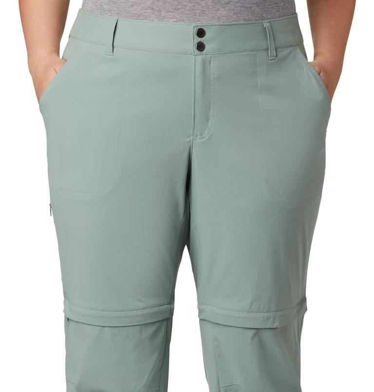 Saturday Trail™ II Convertible Pant | 305 | 18W Women's Saturday Trail™ II Convertible Pants - Plus Size, Light Lichen, a2