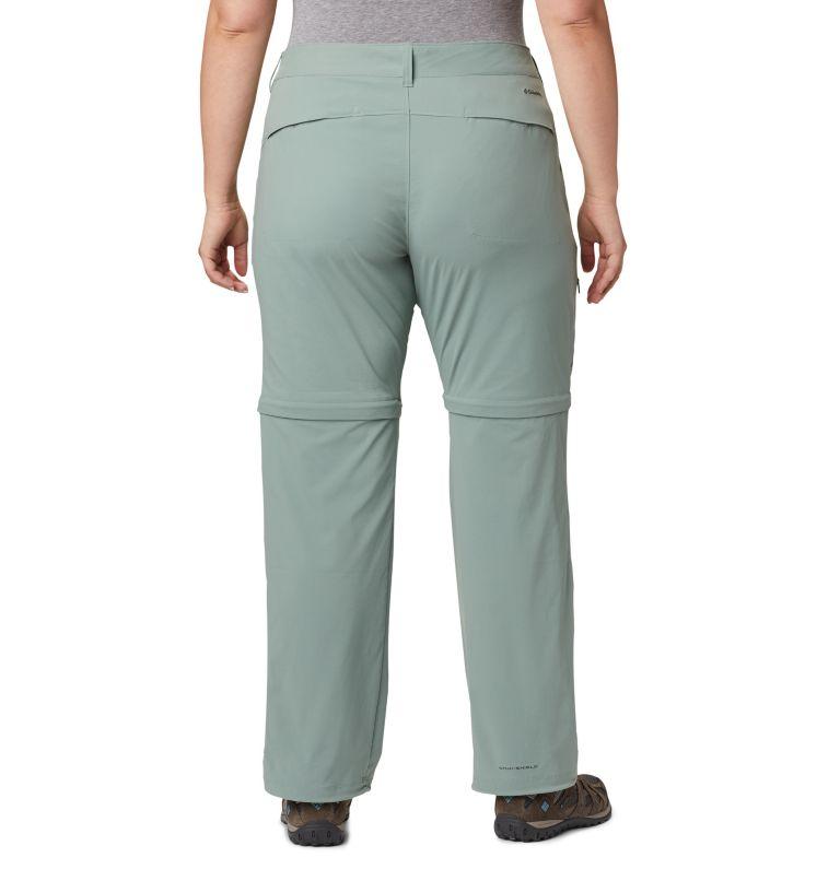 Saturday Trail™ II Convertible Pant | 305 | 18W Women's Saturday Trail™ II Convertible Pants - Plus Size, Light Lichen, back