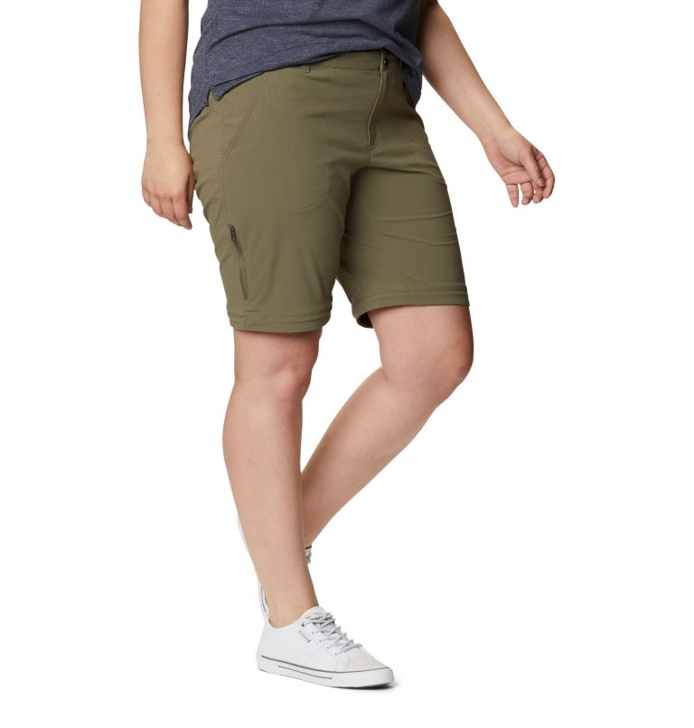 Saturday Trail™ II Convertible Pant | 397 | 18W Women's Saturday Trail™ II Convertible Pants - Plus Size, Stone Green, a5