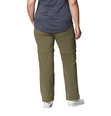 Pantalon convertible Saturday Trail™ II pour femme – Grandes tailles Saturday Trail™ II Convertible Pant | 397 | 16W, Stone Green, back