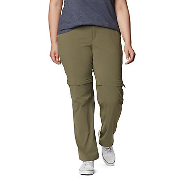 Pantalon convertible Saturday Trail™ II pour femme – Grandes tailles Saturday Trail™ II Convertible Pant | 397 | 16W, Stone Green, front