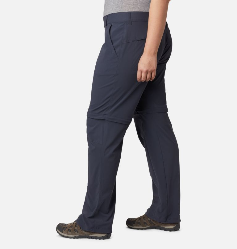 Saturday Trail™ II Convertible Pant | 419 | 24W Women's Saturday Trail™ II Convertible Pants - Plus Size, India Ink, a1