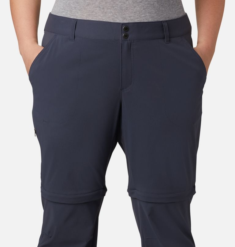 Saturday Trail™ II Convertible Pant | 419 | 18W Women's Saturday Trail™ II Convertible Pants - Plus Size, India Ink, a2