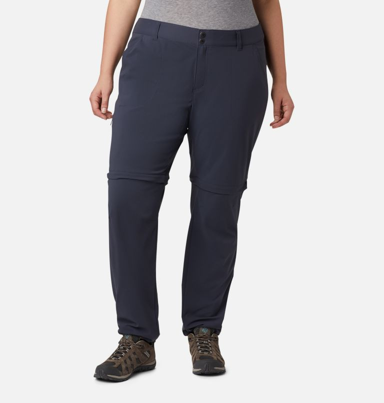 Saturday Trail™ II Convertible Pant | 419 | 24W Women's Saturday Trail™ II Convertible Pants - Plus Size, India Ink, a4