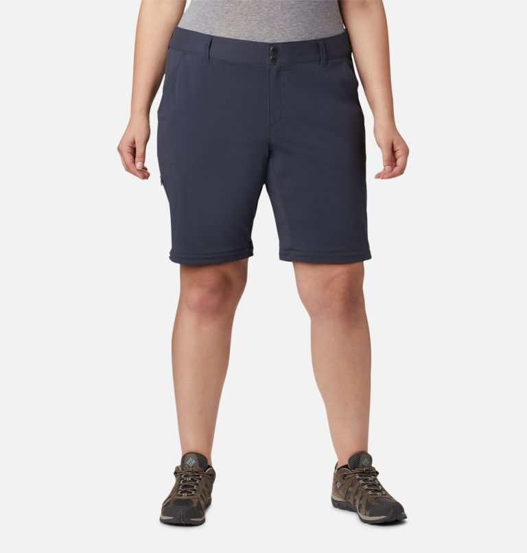 Saturday Trail™ II Convertible Pant | 419 | 24W Women's Saturday Trail™ II Convertible Pants - Plus Size, India Ink, a6