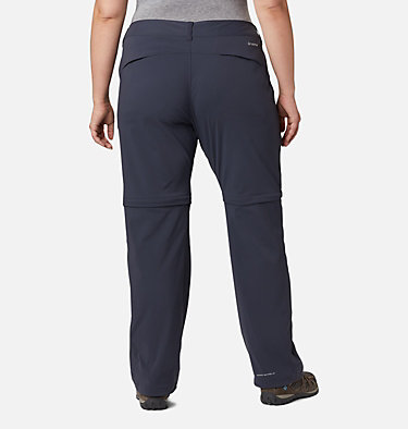 Women's Saturday Trail™ II Convertible Pants - Plus Size Saturday Trail™ II Convertible Pant | 397 | 16W, India Ink, back