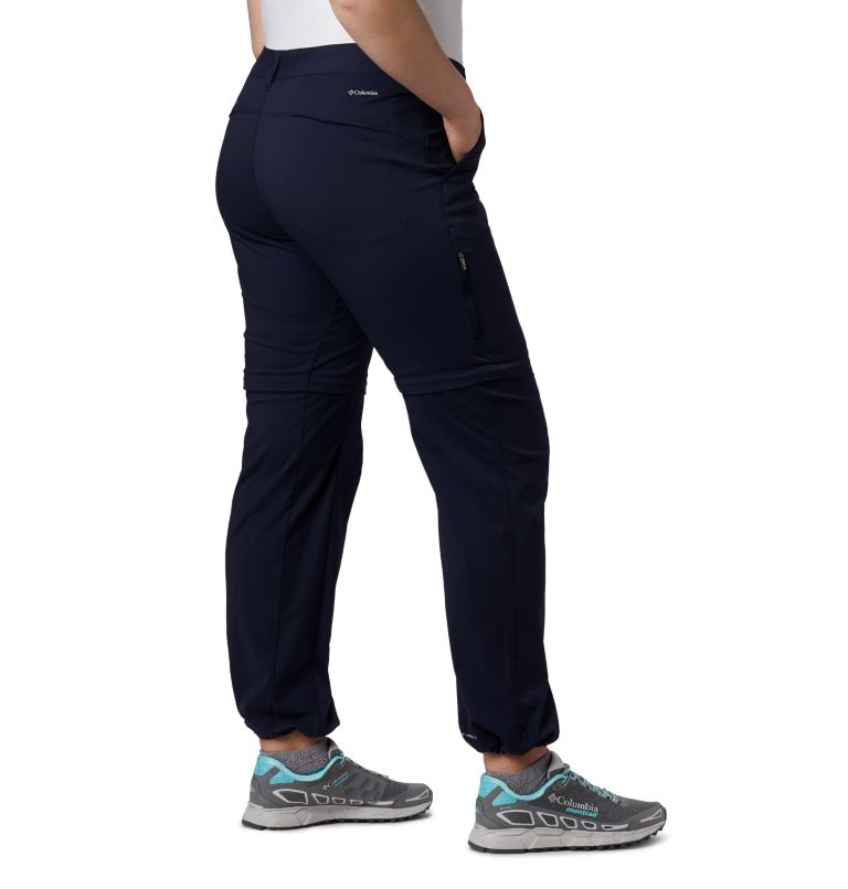 Saturday Trail™ II Convertible Pant | 472 | 20W Women's Saturday Trail™ II Convertible Pants - Plus Size, Dark Nocturnal, a4