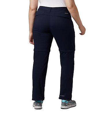 Women's Saturday Trail™ II Convertible Pants - Plus Size Saturday Trail™ II Convertible Pant | 305 | 16W, Dark Nocturnal, back