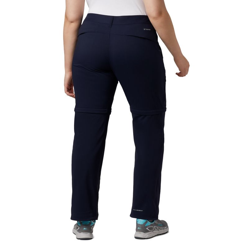 Saturday Trail™ II Convertible Pant | 472 | 20W Women's Saturday Trail™ II Convertible Pants - Plus Size, Dark Nocturnal, back