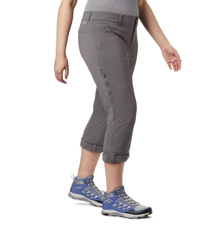 Saturday Trail™ Pant   023   20W Women's Saturday Trail™ Stretch Pants - Plus Size, City Grey, a2