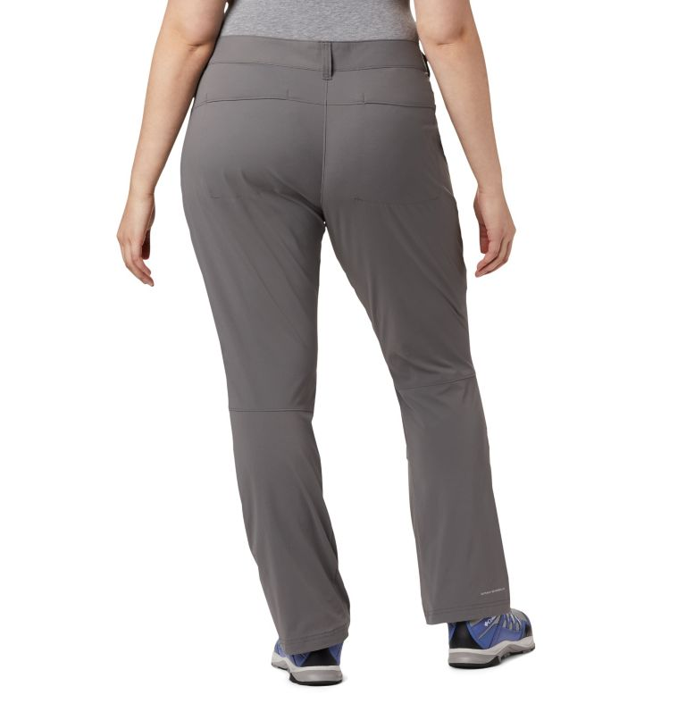 Saturday Trail™ Pant   023   20W Women's Saturday Trail™ Stretch Pants - Plus Size, City Grey, back