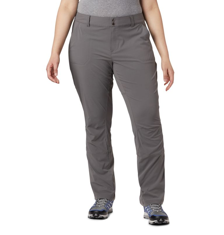 Saturday Trail™ Pant   023   20W Women's Saturday Trail™ Stretch Pants - Plus Size, City Grey, front