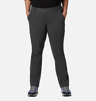 Women's Saturday Trail™ Stretch Pants - Plus Size Saturday Trail™ Pant | 397 | 16W, Grill, front