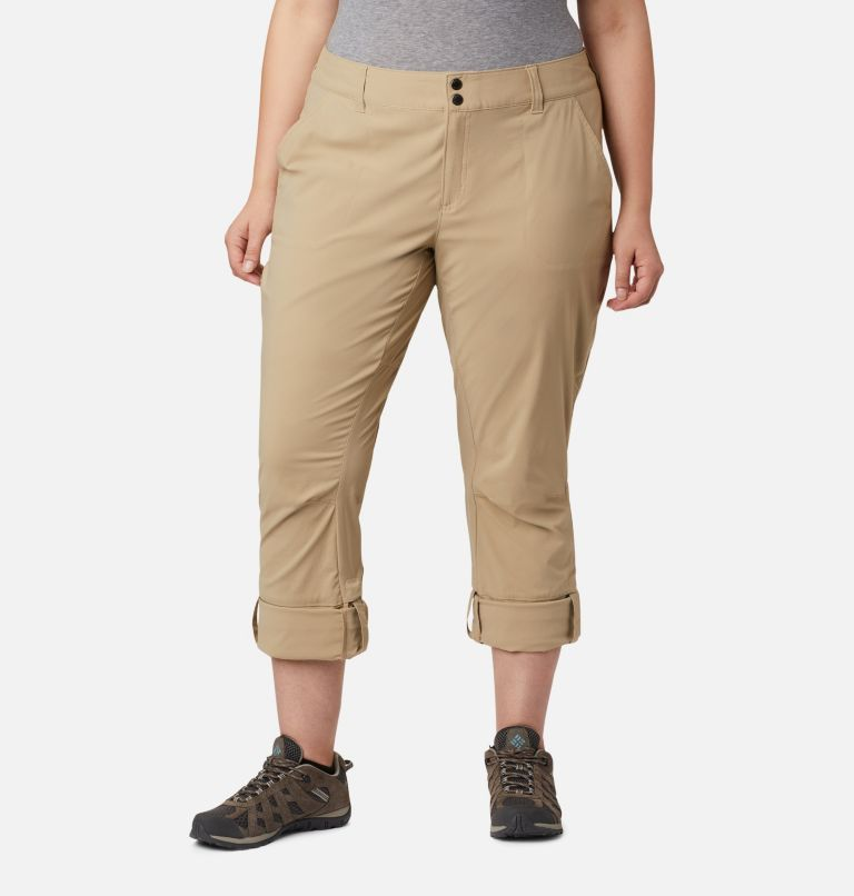 Saturday Trail™ Pant | 265 | 18W Women's Saturday Trail™ Stretch Pants - Plus Size, British Tan, a4