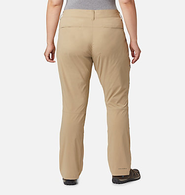 Women's Saturday Trail™ Stretch Pants - Plus Size Saturday Trail™ Pant | 397 | 16W, British Tan, back