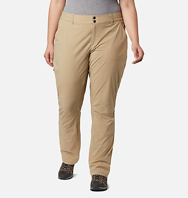 Women's Saturday Trail™ Stretch Pants - Plus Size Saturday Trail™ Pant | 397 | 16W, British Tan, front