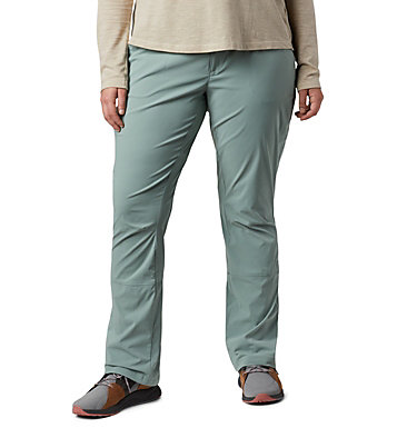 Women's Saturday Trail™ Stretch Pants - Plus Size Saturday Trail™ Pant | 397 | 16W, Light Lichen, front