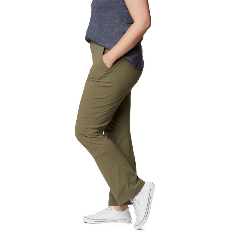 Saturday Trail™ Pant | 397 | 22W Women's Saturday Trail™ Stretch Pants - Plus Size, Stone Green, a1