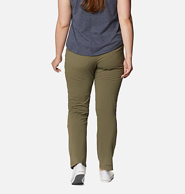 Women's Saturday Trail™ Stretch Pants - Plus Size Saturday Trail™ Pant | 397 | 16W, Stone Green, back