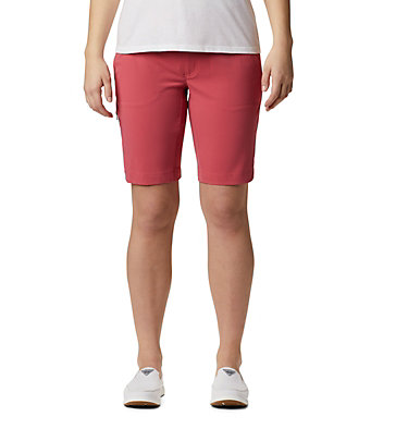 Shorts long Saturday Trail™ Femme Saturday Trail™ Long Short | 010 | 10, Rouge Pink, front