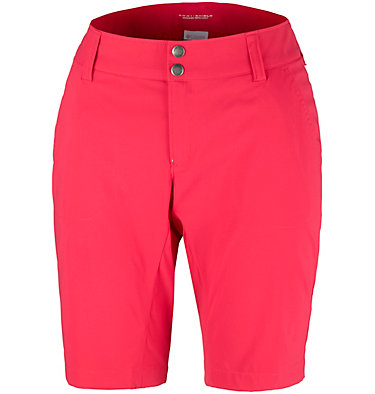 Women's Saturday Trail™ Long Shorts Saturday Trail™ Long Short | 010 | 10, Red Camellia, front