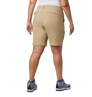 Women's Saturday Trail™ Long Shorts - Plus Size Saturday Trail™ Long Short | 305 | 22W, British Tan, back