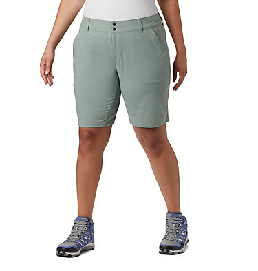 Women's Saturday Trail™ Long Shorts - Plus Size Saturday Trail™ Long Short | 305 | 22W, Light Lichen, front