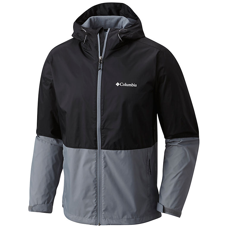 Columbia Men's Roan Mountain Jacket (Black/Grey Ash)