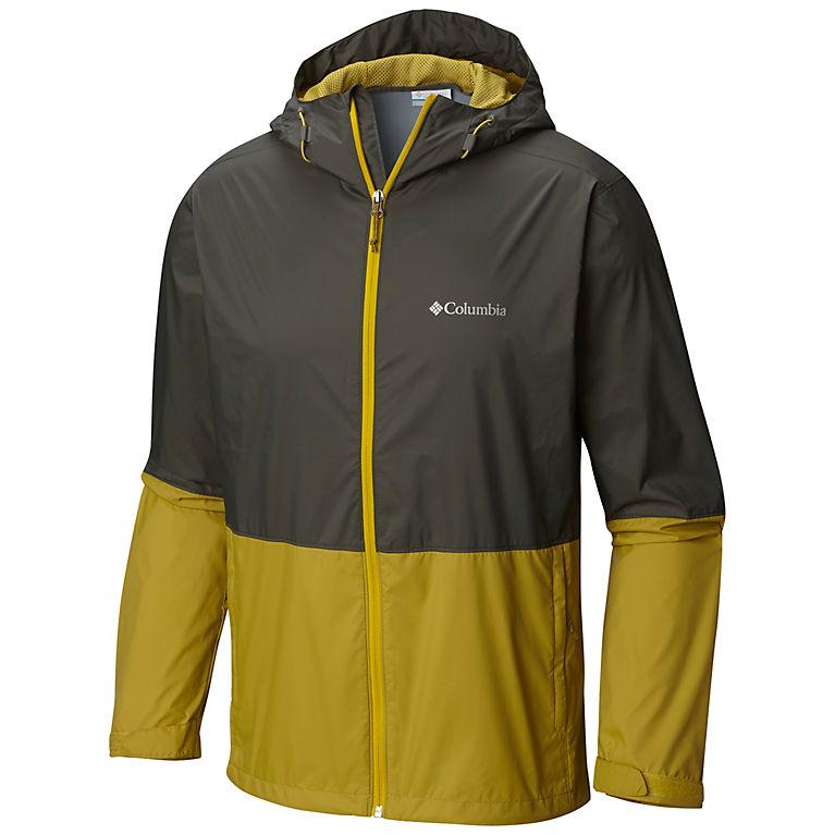 Hooded Columbia Mens Roan Mountain Jacket Waterproof