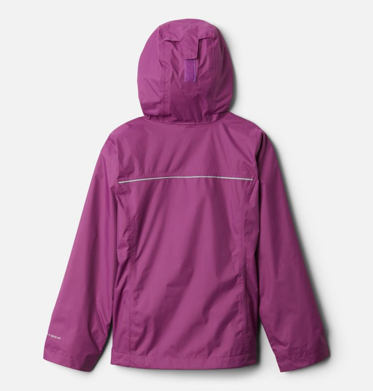 Arcadia™ Jacket | 621 | XXS Girls' Arcadia™ Jacket, Berry Jam, back