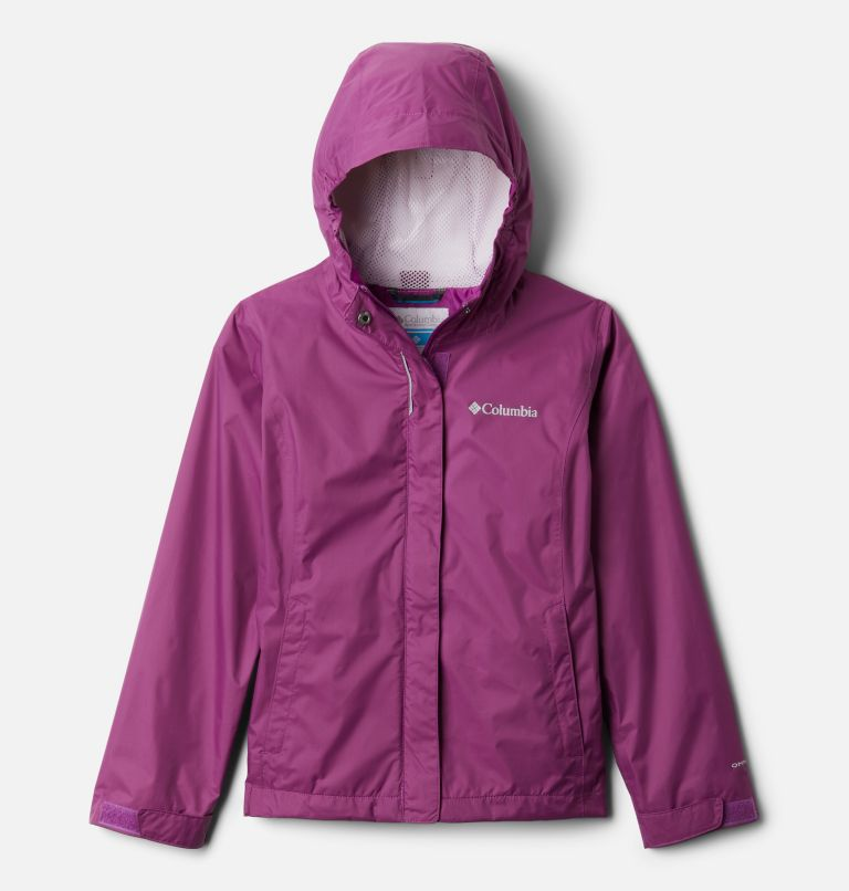 Arcadia™ Jacket | 621 | XXS Girls' Arcadia™ Jacket, Berry Jam, front