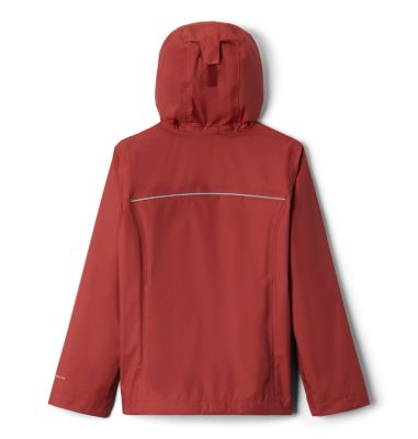 NEW Girls Hooded Zip Jacket Size Small 6-6X Bright Pink Top Hoodie Pockets