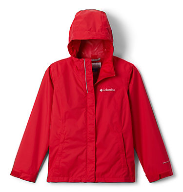 Girls' Arcadia™ Jacket Arcadia™ Jacket | 468 | L, Red Lily, front