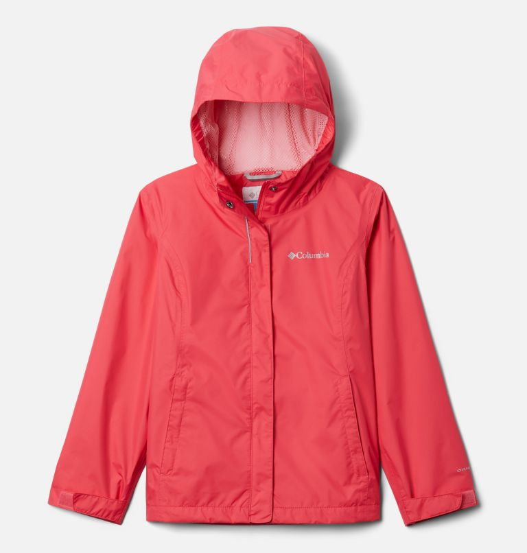 Arcadia™ Jacket   675   M Girls' Arcadia™ Jacket, Bright Geranium, front
